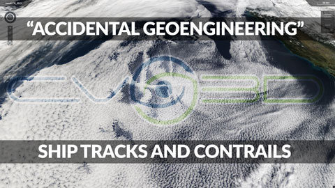 """Accidental Geoengineering"" with Ship Tracks and Contrails"