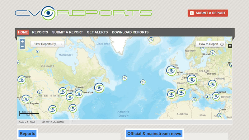 Report your news with ClimateViewer Reports!