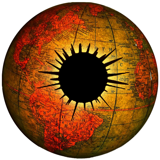 Climate Viewer Earth Globe with Eye Pupil