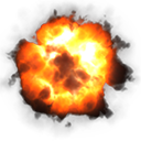 Aerial or High Altitude Explosion