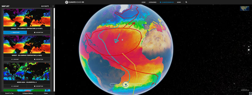 Thermohaline Circulation and Sea Surface Temperatures