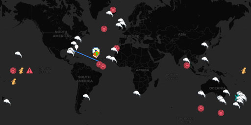 Interactive Map of Mass Whale Stranding Sites • Live Earth